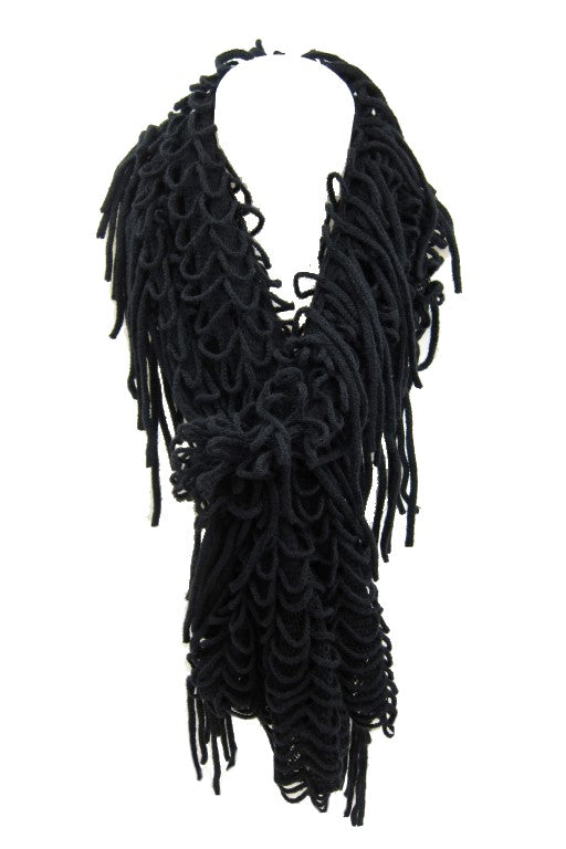 scarves , fringing scarves, fashion accessories, ladies accessories, womens scarves