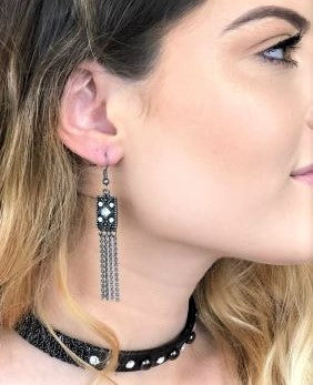 stylish fashion earrings, fashion accessoires, ladies fashion jewellery