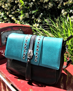 Aqua Small Faux Leather Fashion Shoulderbag, shoulder bag, ladies accessories, cross body bag, womens handbag, Aqua vegan leather bags, vegan leather bags, vegan leather fashion bags, vegan leather fashion, vegan leather fashion accessories, vegan leather shoulder bags, stylish vegan leather bag, elegant vegan leather bags, fashionable vegan leather bags