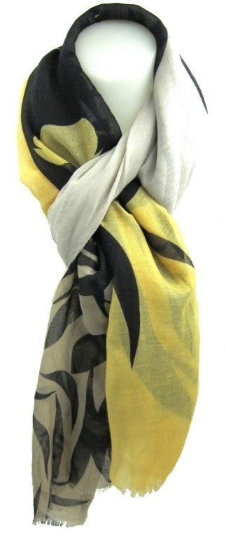 fashion scarf, Floaty oblong scarf,animal print, safari tones, polyester,elegant, Stylish Design Animal Print Fashion Scarf Accessory