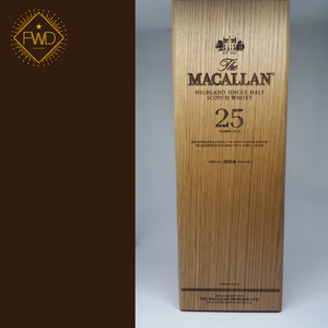 Macallan 25 Year Old Sherry Oak: 2018 release (OB)