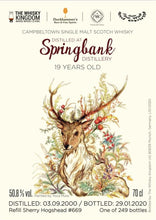 Load image into Gallery viewer, Springbank 19 (Friends With Drams)