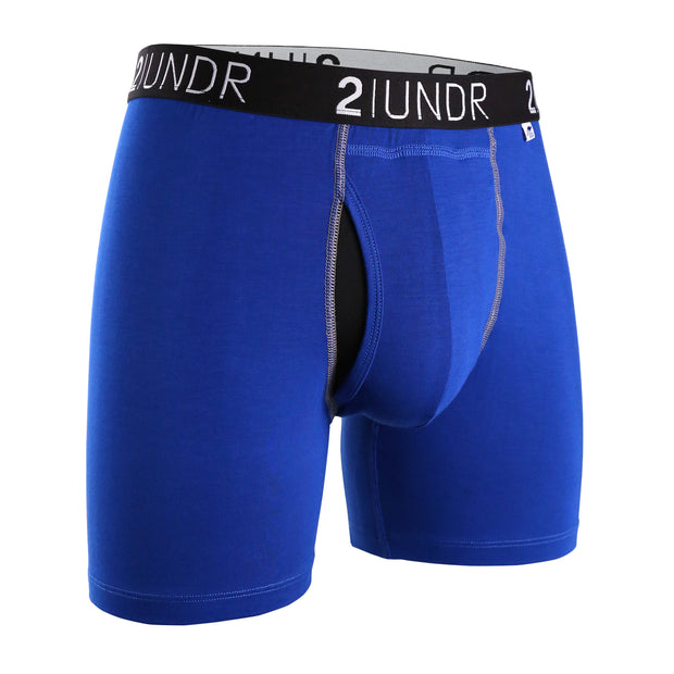 SWING SHIFT BOXER BRIEF BLUE