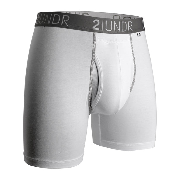 SWING SHIFT BOXER BRIEF WHITE