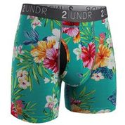 SWINGSHIFT BOXER BREIF 2 PACK - KONA/TURKS