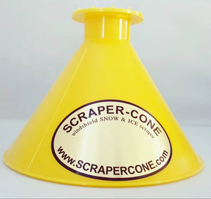 Scraper Cone - Yellow
