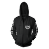 THE OCEAN // PHANEROZOIC II - COLLISION ZIPPER HOODIE - Wild Thing Records