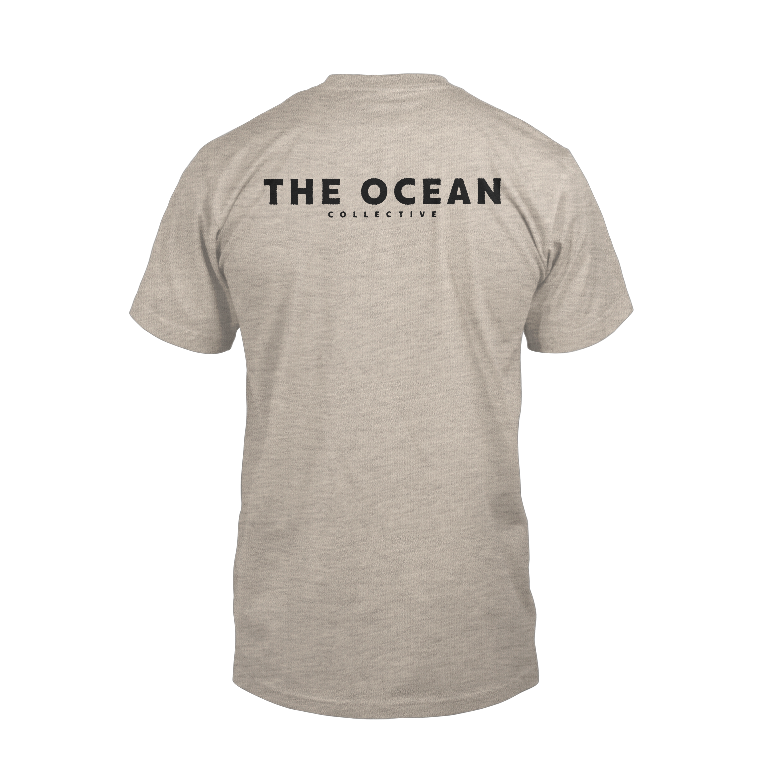 THE OCEAN // PHANEROZOIC II - COLLISION HEATHER SAND T-SHIRT - Wild Thing Records