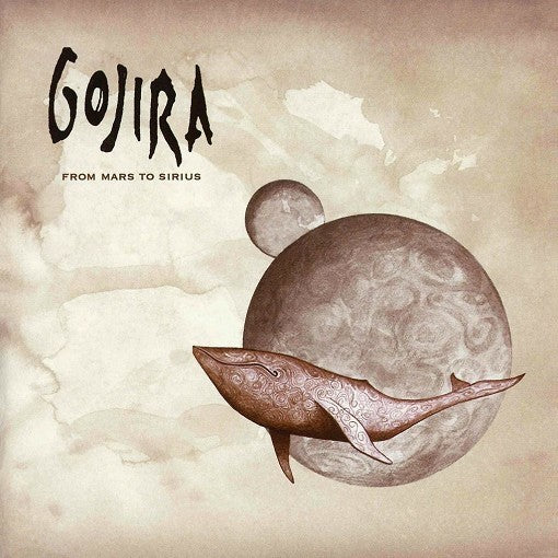 GOJIRA // FROM MARS TO SIRIUS - CD (RE-RELEASE) - Wild Thing Records