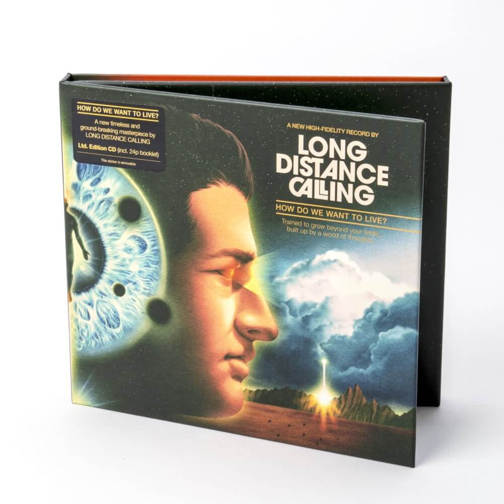 LONG DISTANCE CALLING // HOW DO WE WANT TO LIVE? - LTD EDITION CD (INCL. 24P BOOKLET)