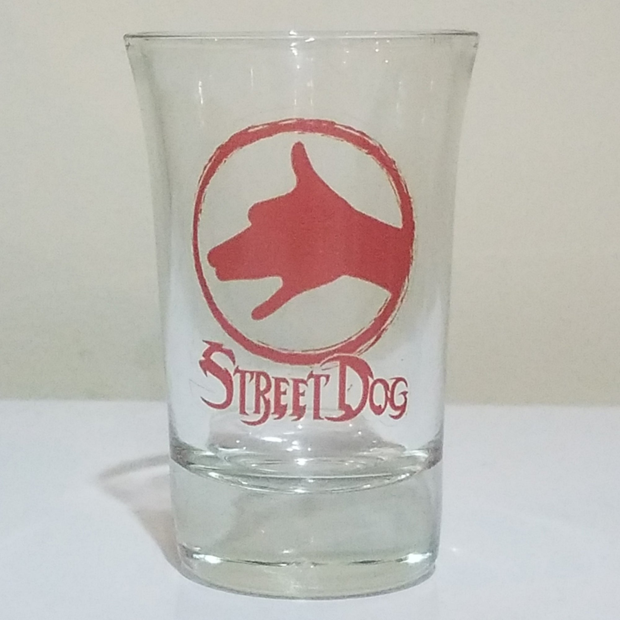 ALITHIA // STREET DOG SHOT GLASS
