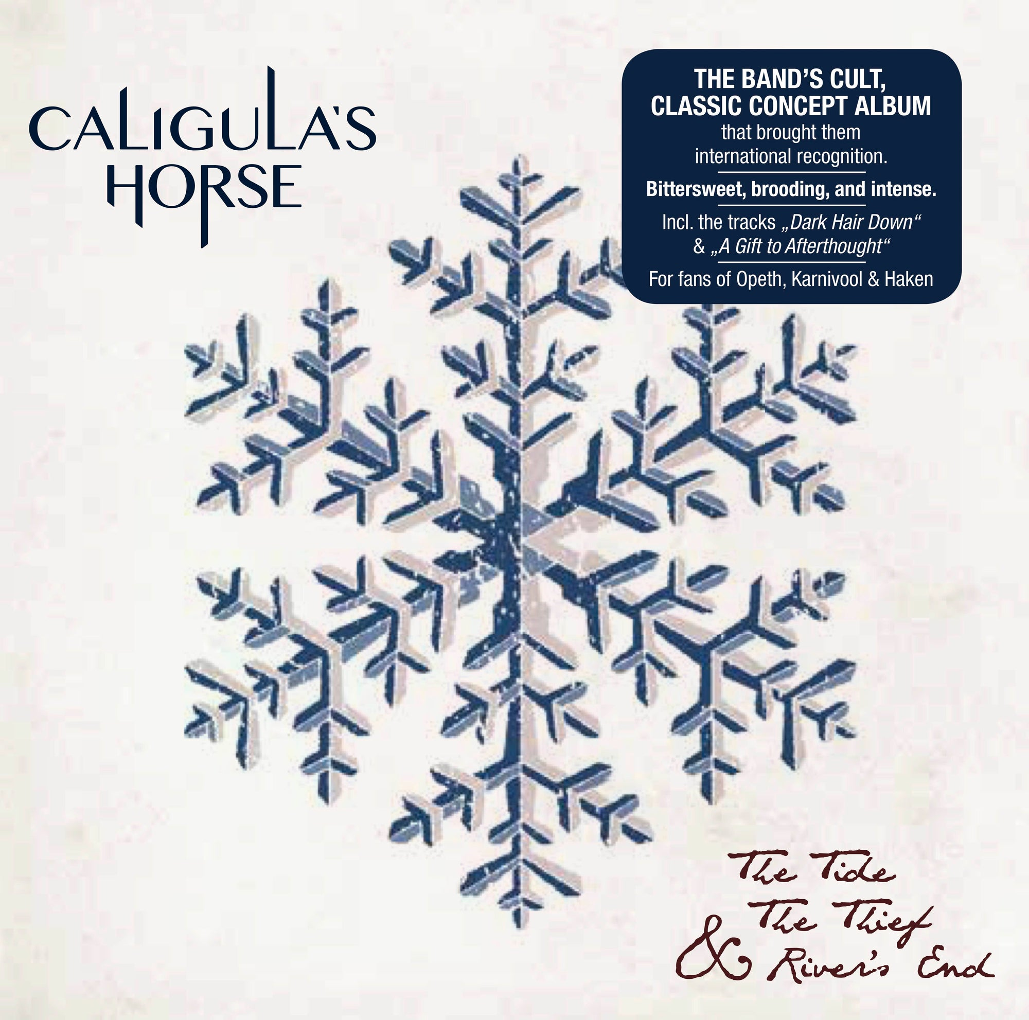 CALIGULA'S HORSE // THE TIDE, THE THIEF & RIVER'S END - CD (RE-ISSUE 2017) - Wild Thing Records