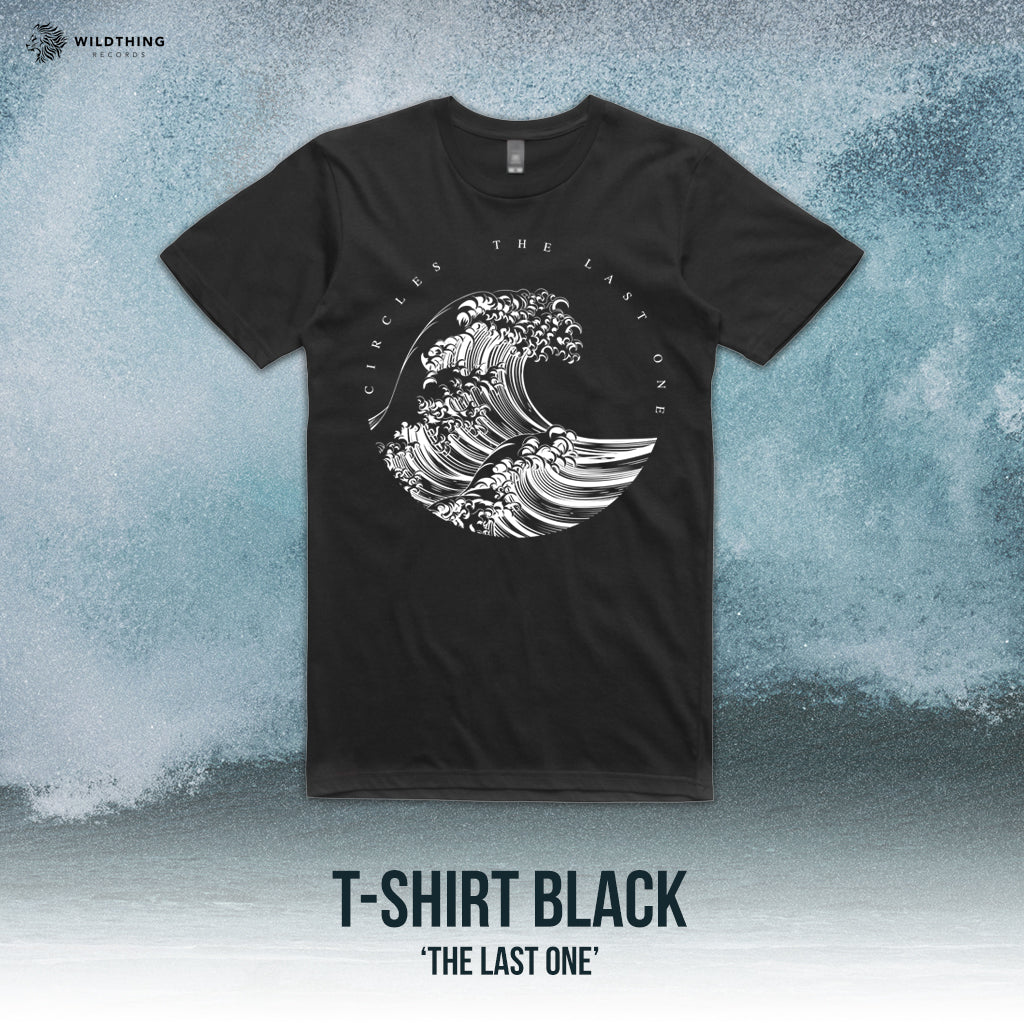 CIRCLES // THE LAST ONE BLACK T-SHIRT - Wild Thing Records