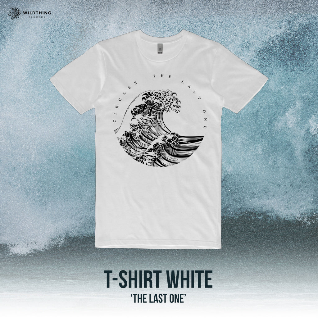 CIRCLES // THE LAST ONE WHITE T-SHIRT - Wild Thing Records