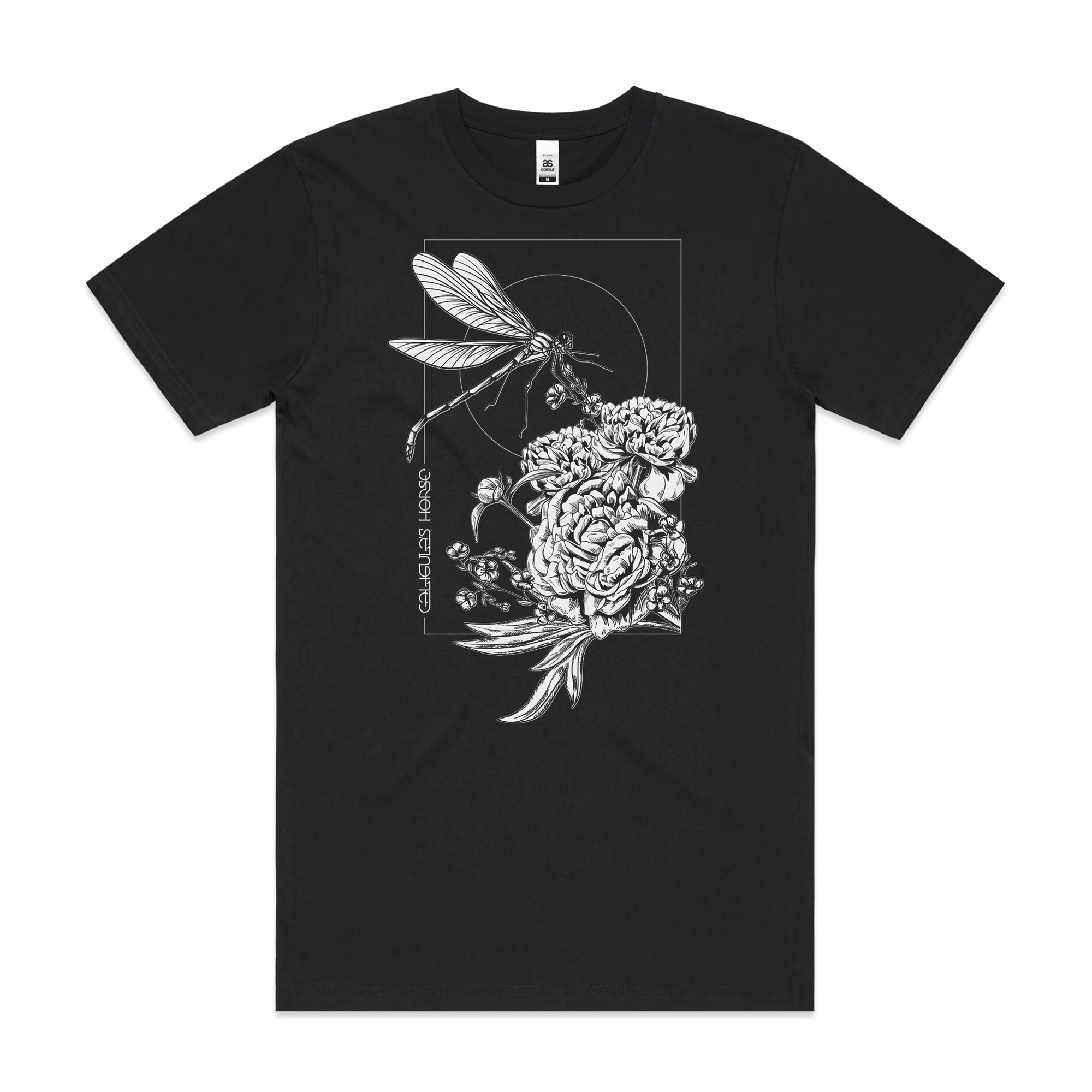 CALIGULA'S HORSE // DRAGONFLY BLACK T-SHIRT - Wild Thing Records