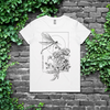 CALIGULA'S HORSE // DRAGONFLY WHITE T-SHIRT (WOMEN'S) - Wild Thing Records