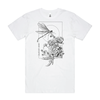CALIGULA'S HORSE // DRAGONFLY WHITE T-SHIRT - Wild Thing Records