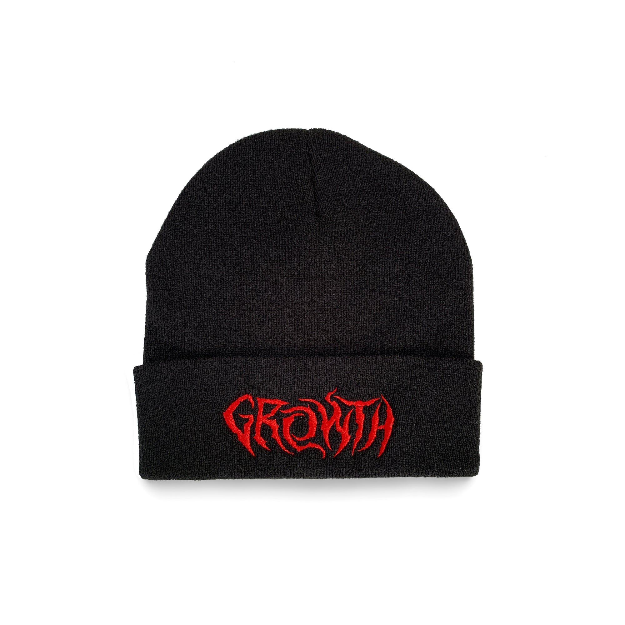 GROWTH // RED BEANIE - Wild Thing Records