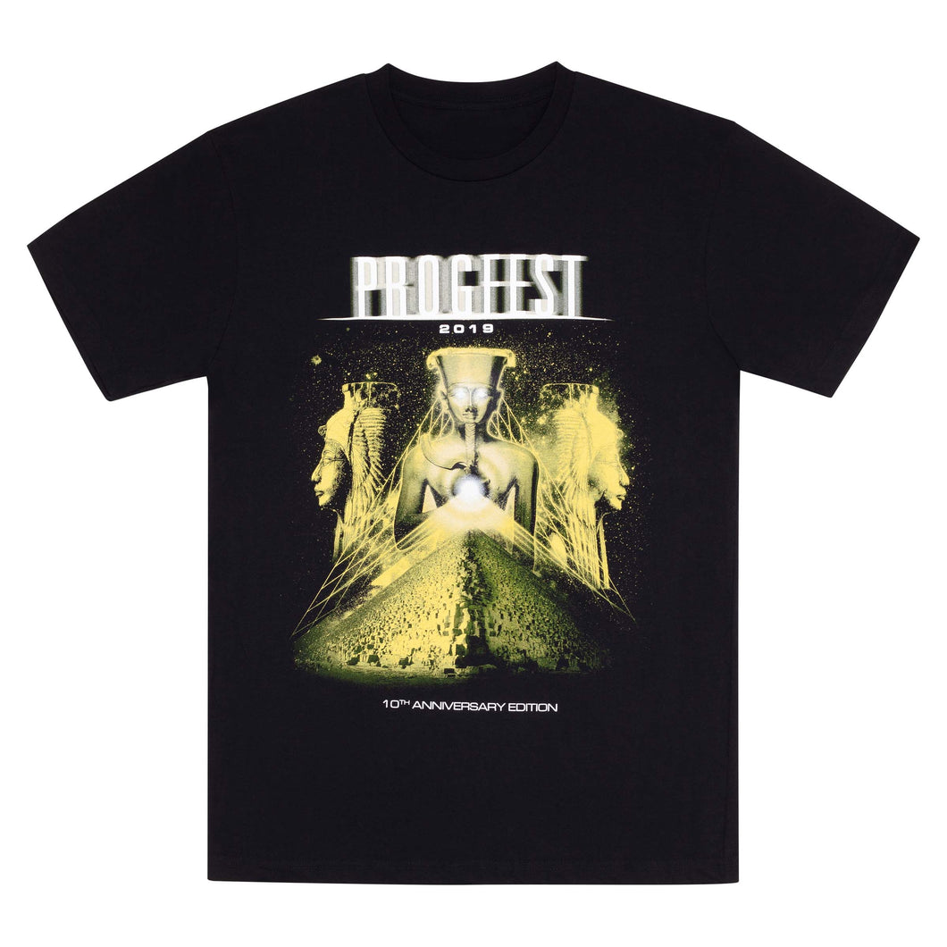 PROGFEST 2019 // 10TH ANNIVERSARY EDITION T-SHIRT