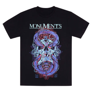 MONUMENTS // OUROBOROS T-SHIRT - Wild Thing Records