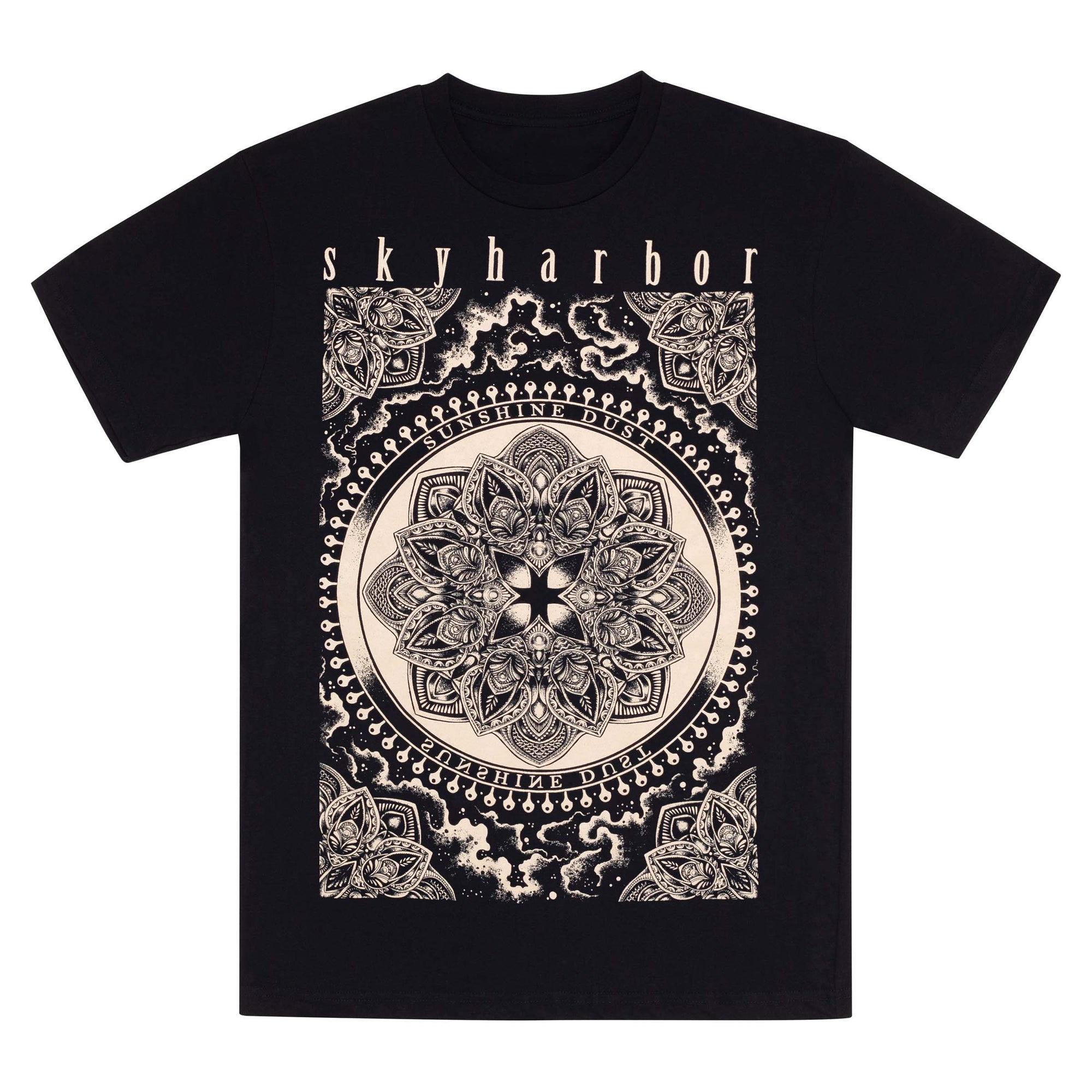SKYHARBOR // SUNSHINE DUST BLACK T-SHIRT - Wild Thing Records