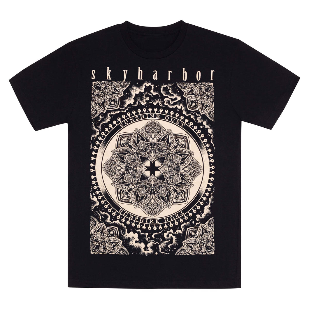 SKYHARBOR // SUNSHINE DUST BLACK T-SHIRT