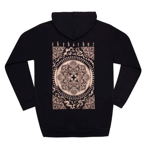 SKYHARBOR // SUNSHINE DUST BLACK HOODIE