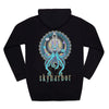 SKYHARBOR // SENSEI SQUID BLACK HOODIE - Wild Thing Records