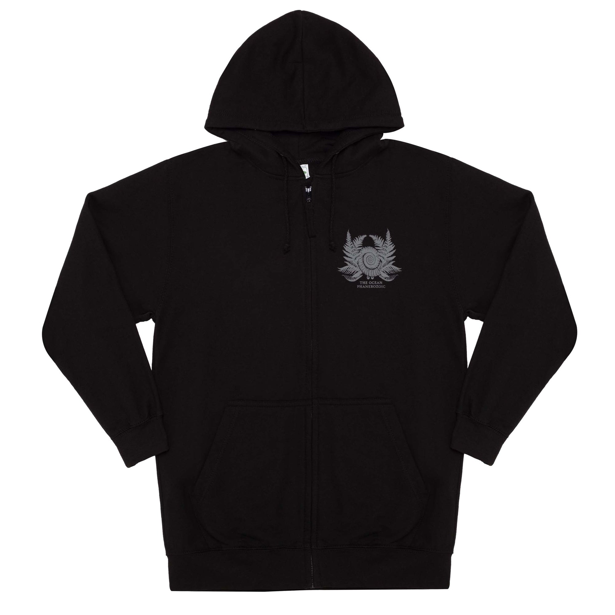 THE OCEAN // PHANEROZOIC I - AMMONITE BLACK HOODIE - Wild Thing Records