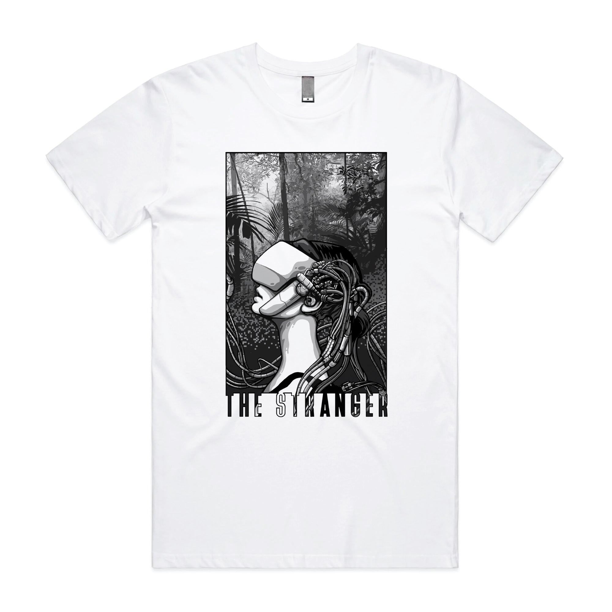 THE STRANGER // KALEIDOSCOPE - WHITE T-SHIRT