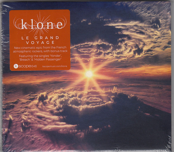 KLONE // LE GRAND VOYAGE - CD - Wild Thing Records