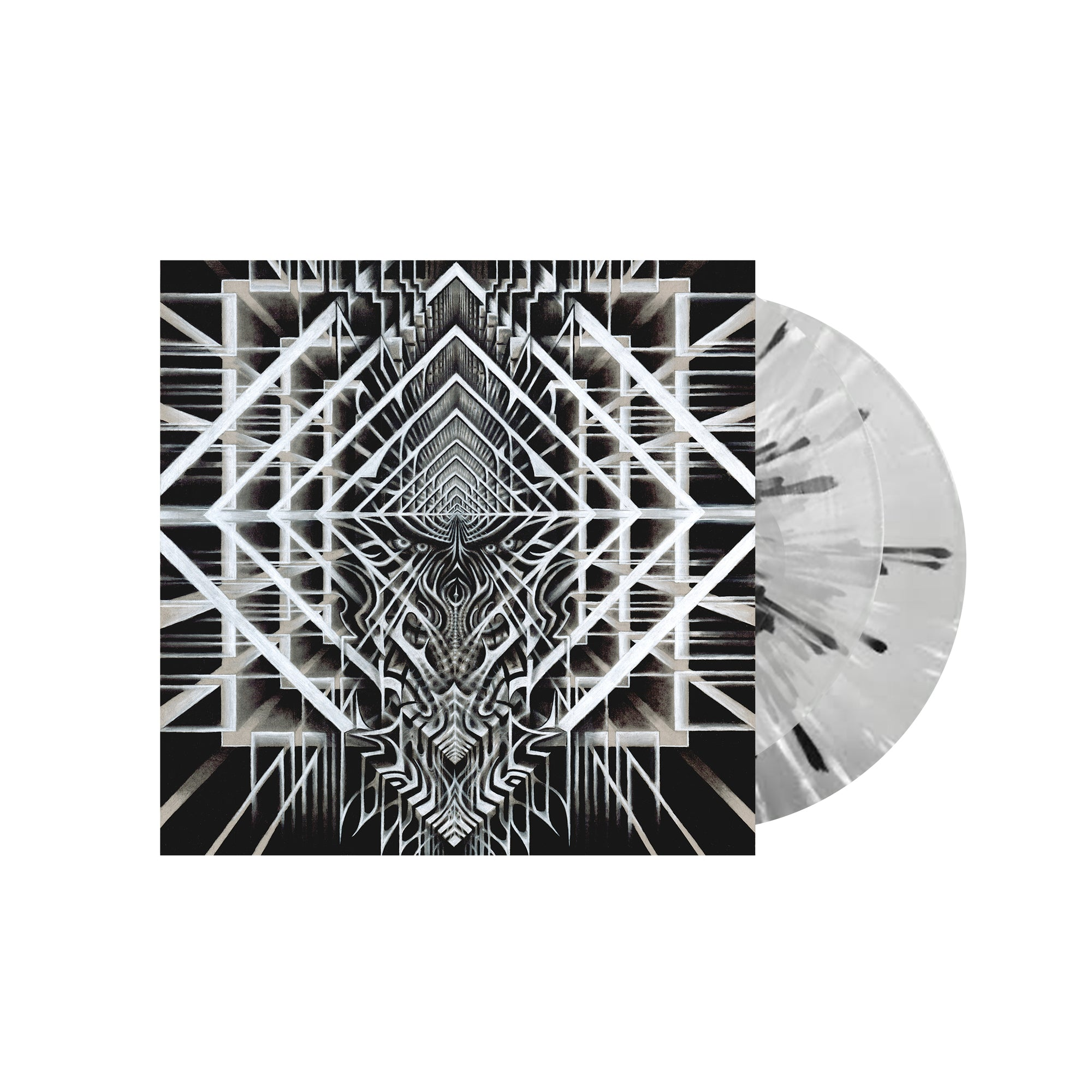 GROWTH // THE SMOTHERING ARMS OF MERCY - LTD. EDITION CLEAR VINYL (2LP)