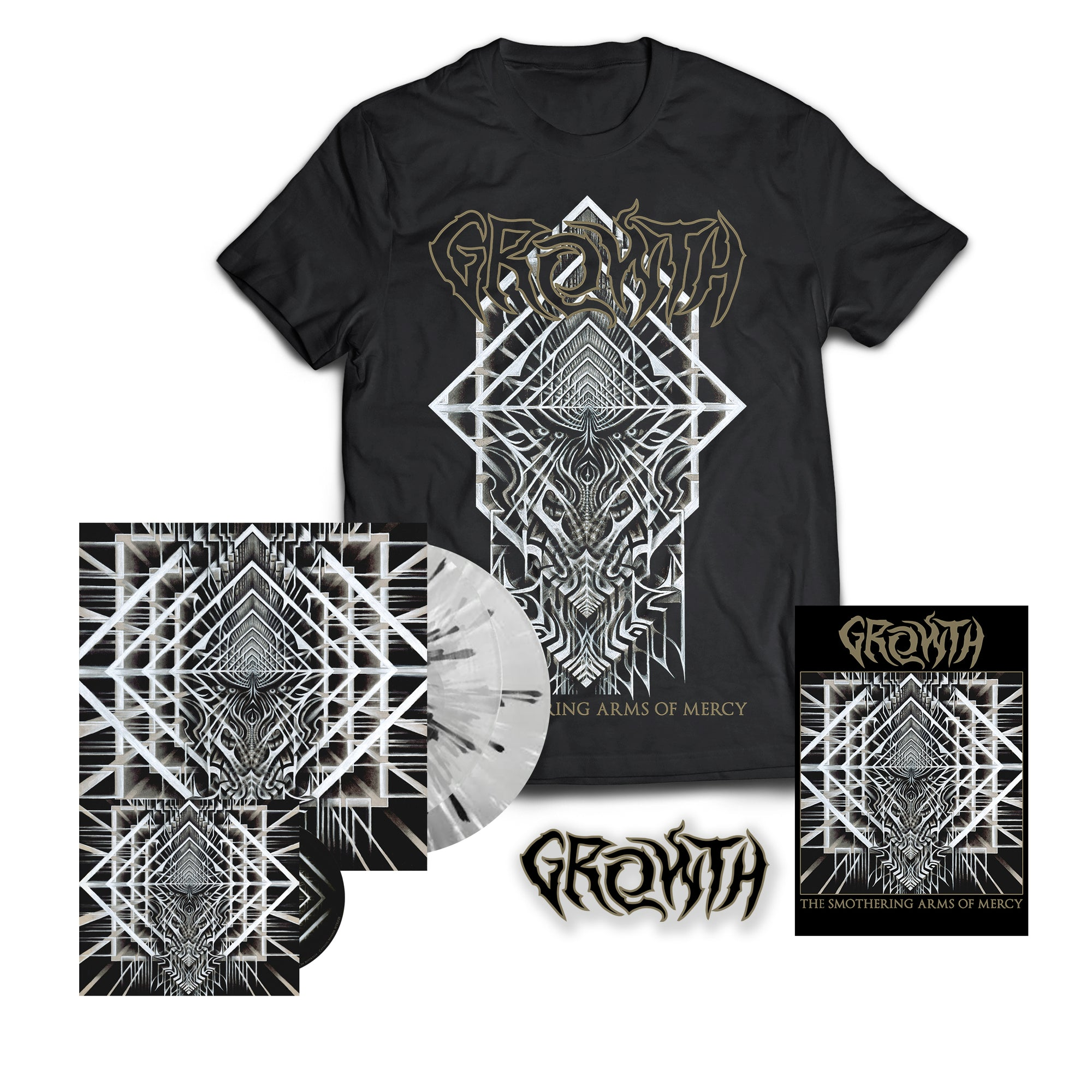 GROWTH // THE SMOTHERING ARMS OF MERCY - COMPLETE BUNDLE - Wild Thing Records