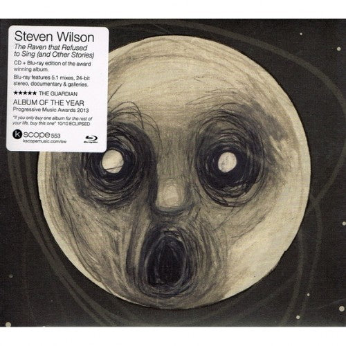 STEVEN WILSON // THE RAVEN THAT REFUSED TO SING (AND OTHER STORIES) - CD + BLU-RAY - Wild Thing Records