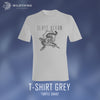 GLASS OCEAN // TURTLE SNAKE T-SHIRT - GREY - Wild Thing Records