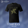 GLASS OCEAN // TURTLE SNAKE T-SHIRT - BLACK - Wild Thing Records