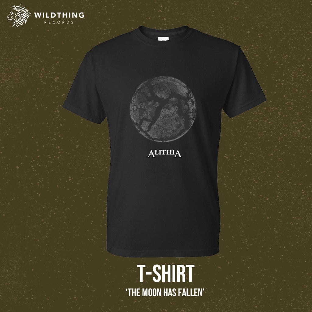 ALITHIA // THE MOON HAS FALLEN T-SHIRT - Wild Thing Records