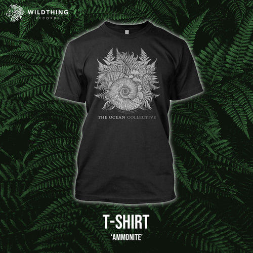 THE OCEAN - PHANEROZOIC I // AMMONITE T-SHIRT - PREORDER