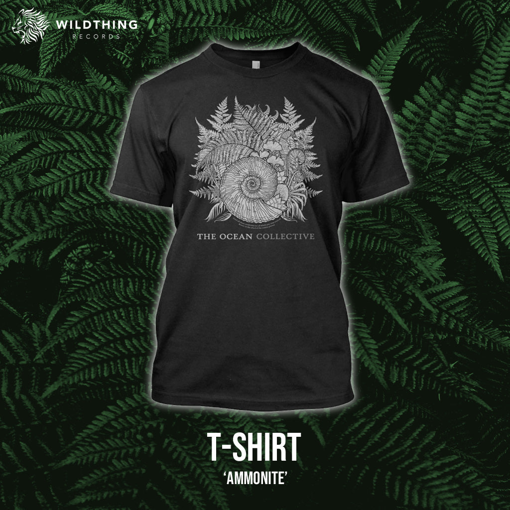 THE OCEAN // AMMONITE T-SHIRT (WOMENS) - Wild Thing Records