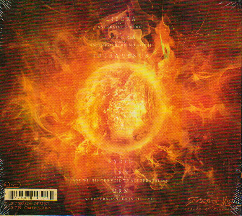 NE OBLIVISCARIS // URN - CD DIGIPAK - Wild Thing Records