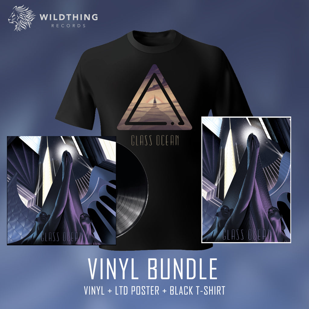 GLASS OCEAN // THE REMNANTS OF LOSING YOURSELF IN SOMEONE ELSE // VINYL BUNDLE - Wild Thing Records