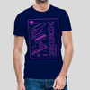 VOYAGER // KEYTAR NAVY T-SHIRT - Wild Thing Records
