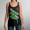 VOYAGER // SCIENCE IS THE ART - WOMEN'S BLACK SINGLET - Wild Thing Records