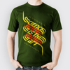 VOYAGER // SCIENCE IS THE ART - GREEN T-SHIRT - Wild Thing Records