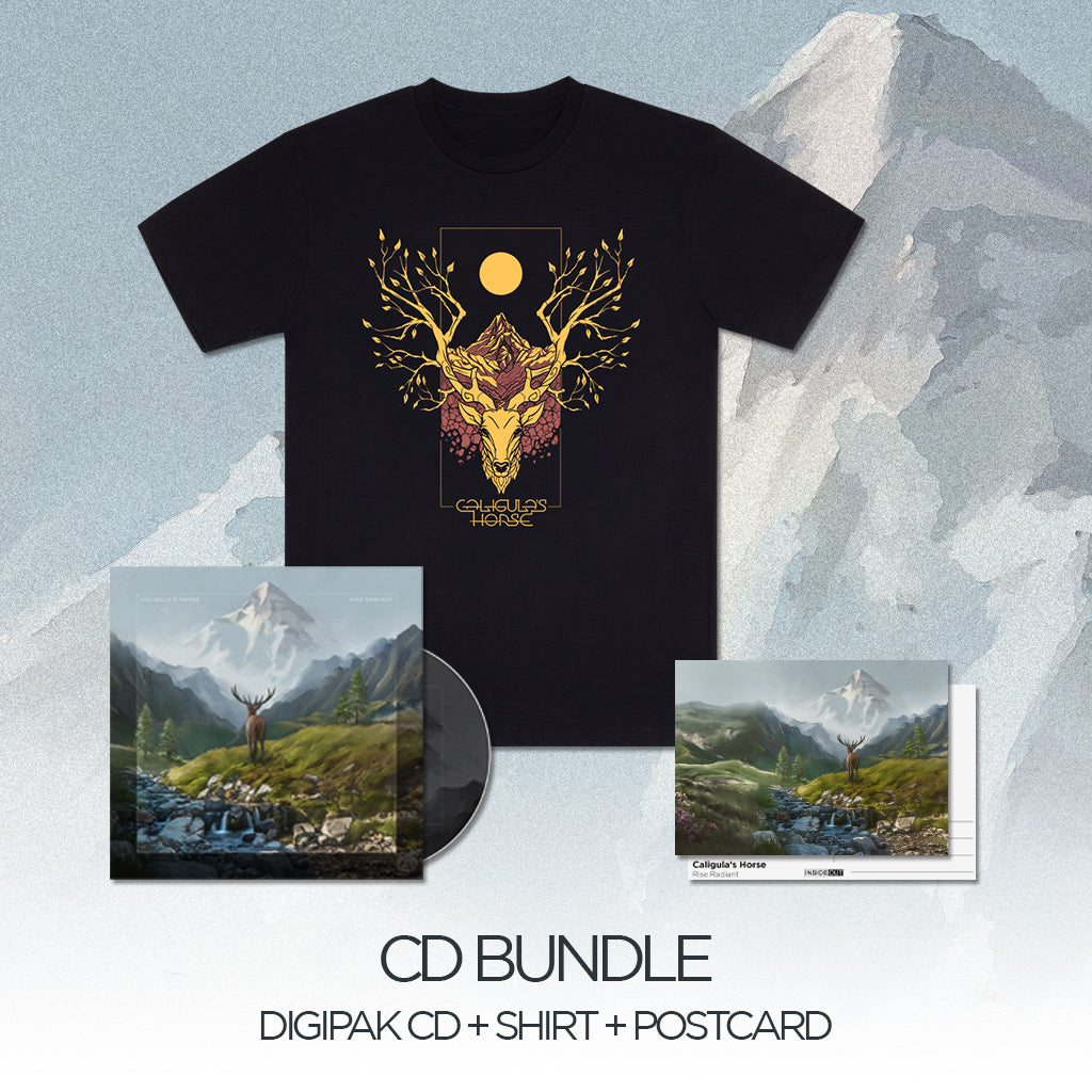 CALIGULA'S HORSE // RISE RADIANT - OCHRE CD BUNDLE - Wild Thing Records
