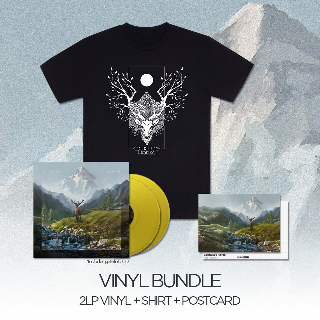 CALIGULA'S HORSE // RISE RADIANT - PEARL VINYL BUNDLE - Wild Thing Records