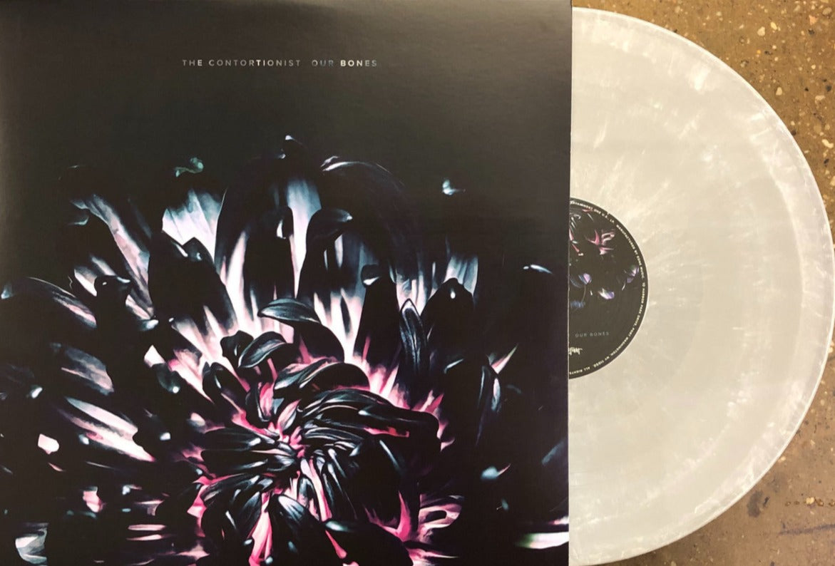 "THE CONTORTIONIST // OUR BONES (EP) - 12"" VINYL (LTD EDITION GREY & WHITE MARBLE) - Wild Thing Records"