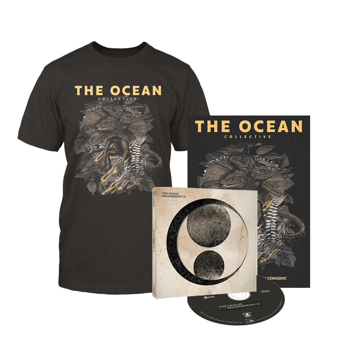 THE OCEAN // PHANEROZOIC II - DELUXE CD BUNDLE - Wild Thing Records