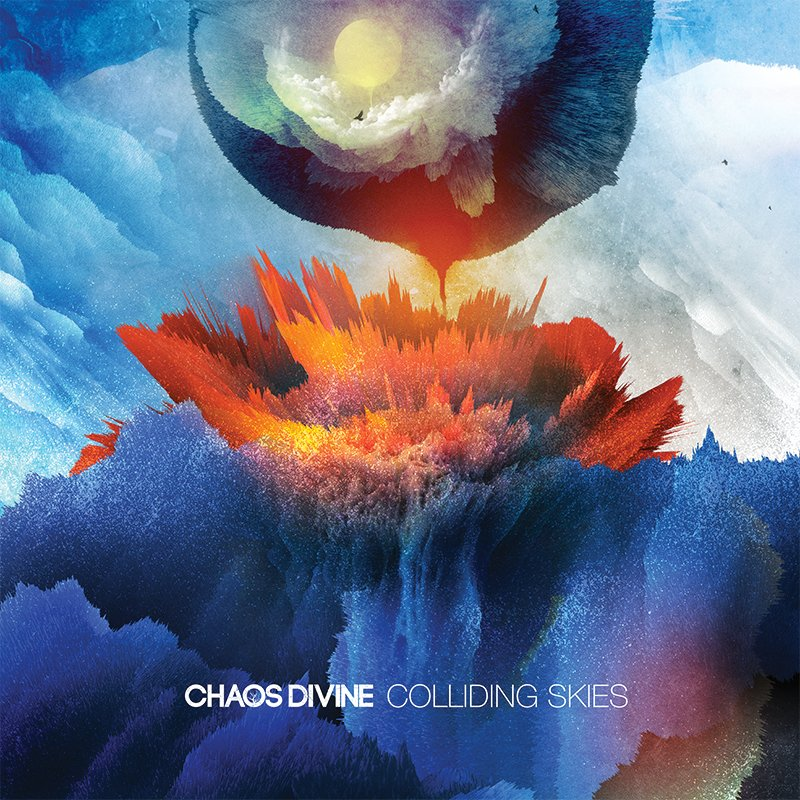 CHAOS DIVINE // COLLIDING SKIES - CD - Wild Thing Records