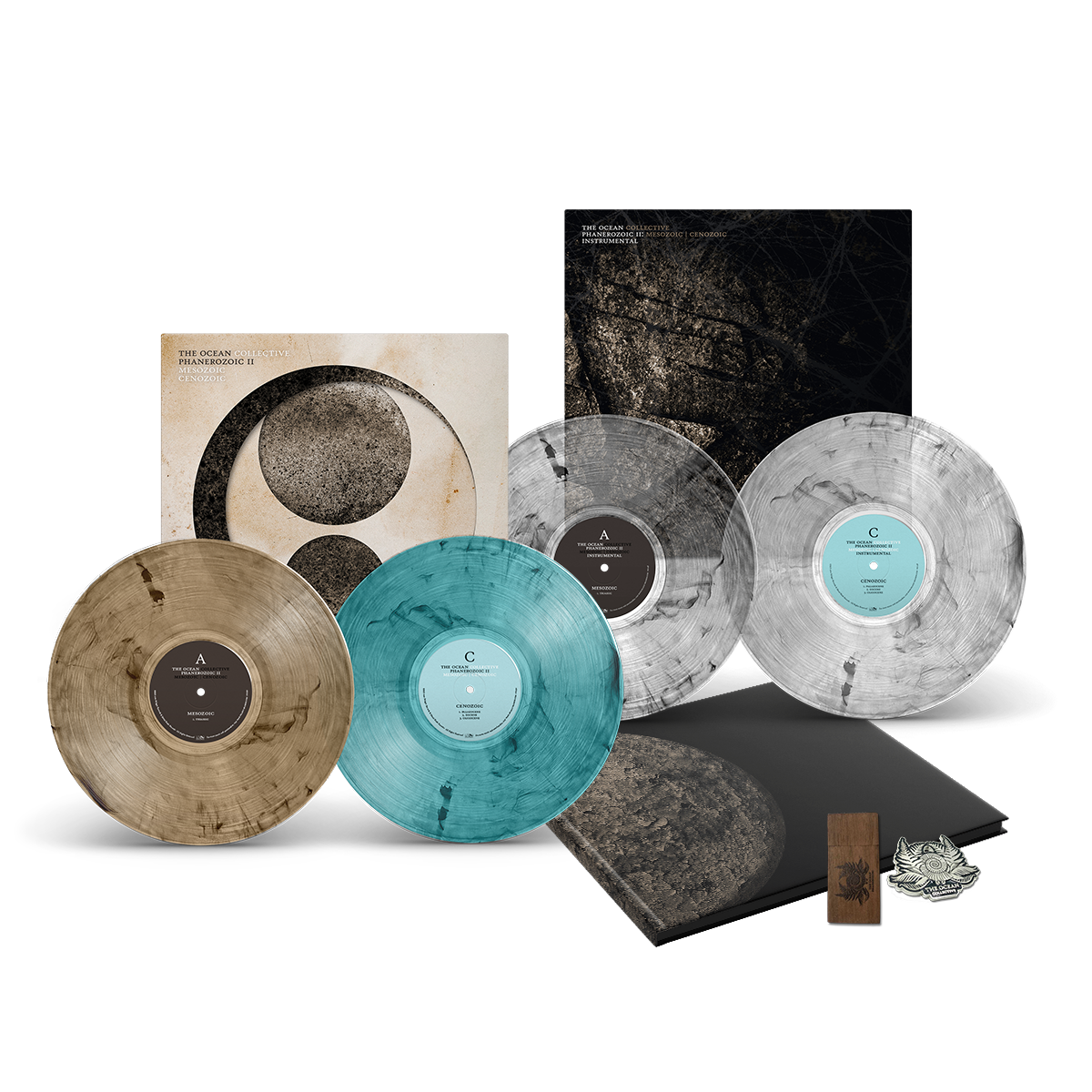 THE OCEAN // PHANEROZOIC II - FUMES DELUXE EDITION BUNDLE (4LP) - Wild Thing Records